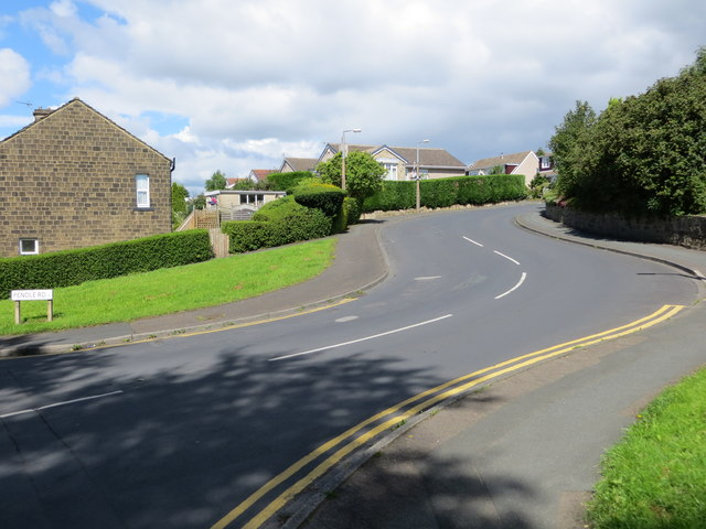 Pendle Road in Gilstead