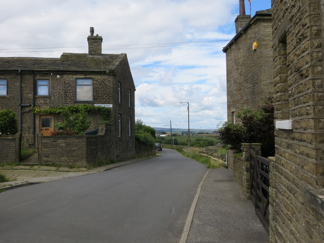 Upper Heights Lane near Back Heights