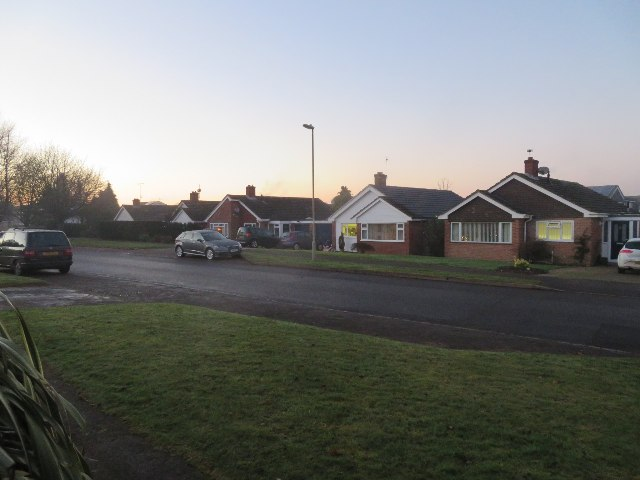 Bungalows facing The Drive