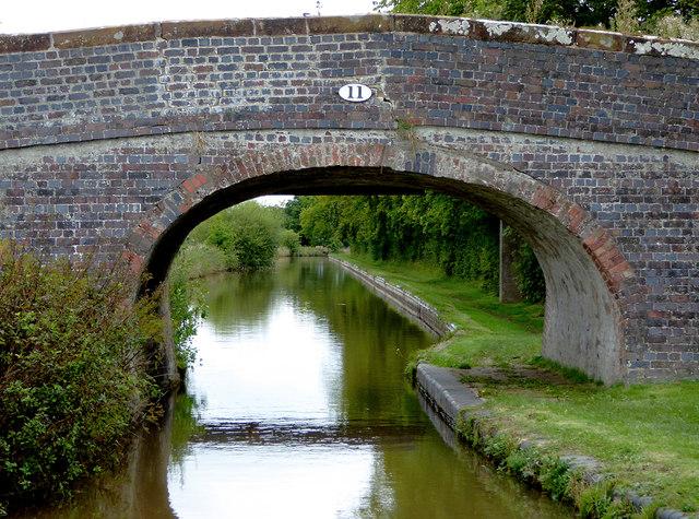 Bethills Bridge north-west of Ravensmoor, Cheshire