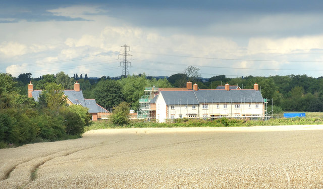 New Houses across the Field