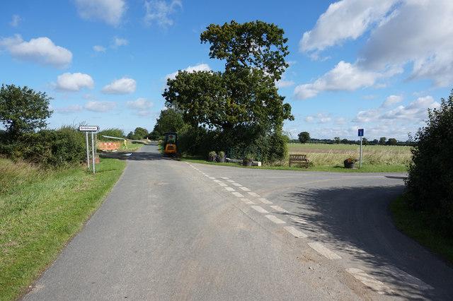 Road Junction on Tottering Lane