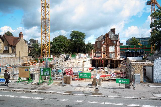 Building Site, Woodstock Road