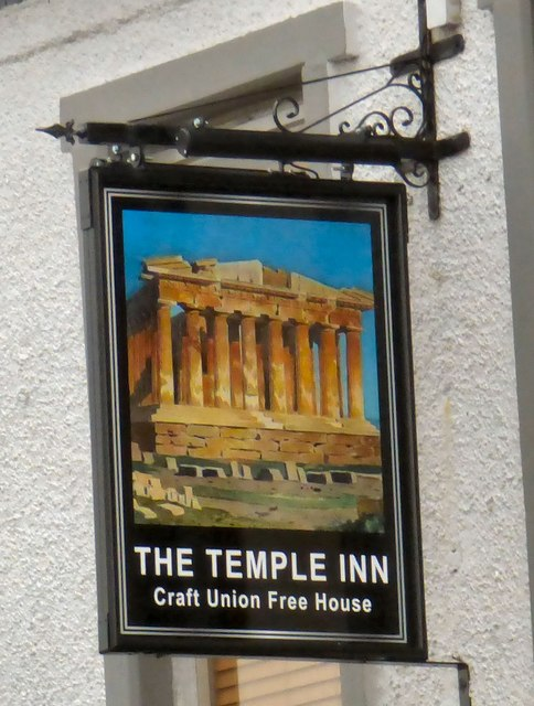Sign of the Temple Inn