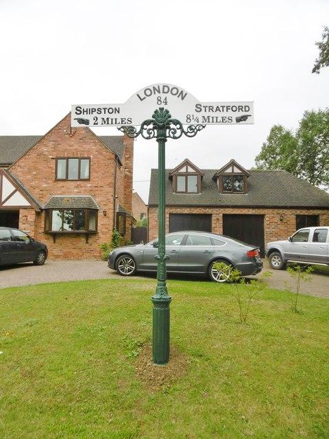 Milepost, Tredington