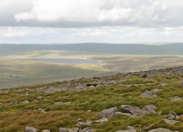 View towards Cow Green Reservoir