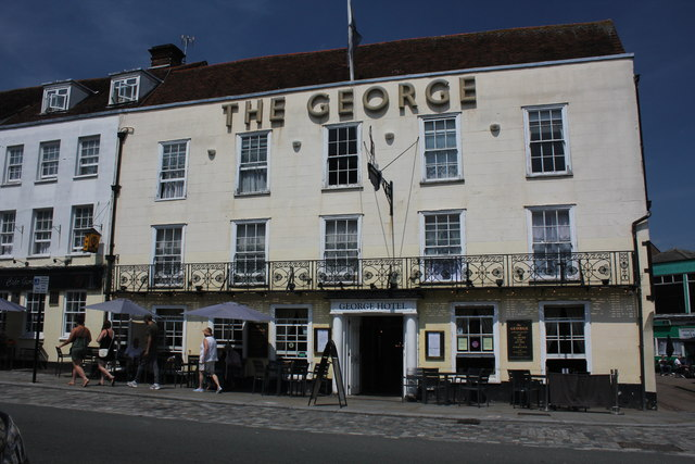 The George Hotel, 116 High Street, Colchester