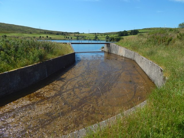 Whinhill Reservoir: outflow