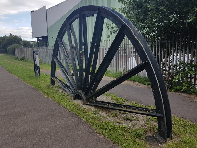 Pit wheel, Trent  & Mersey Canal, Hanford