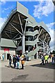 SJ8195 : C stand at Emirate Old Trafford by Richard Hoare