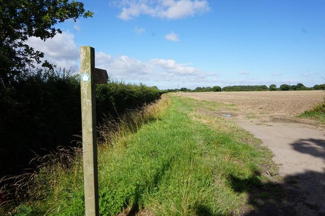 Fingerpost on Tottering Lane