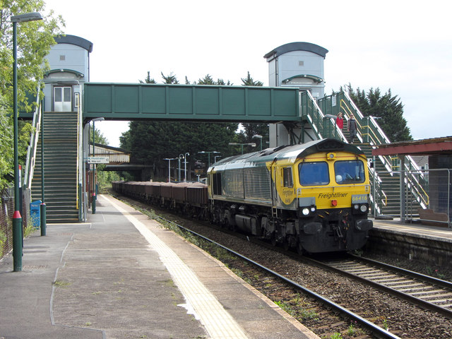 Engineers' train at Llandaff