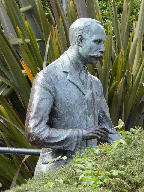 Elgar statue in Malvern
