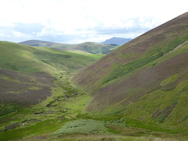 Nisbet Burn from Crooked Bank