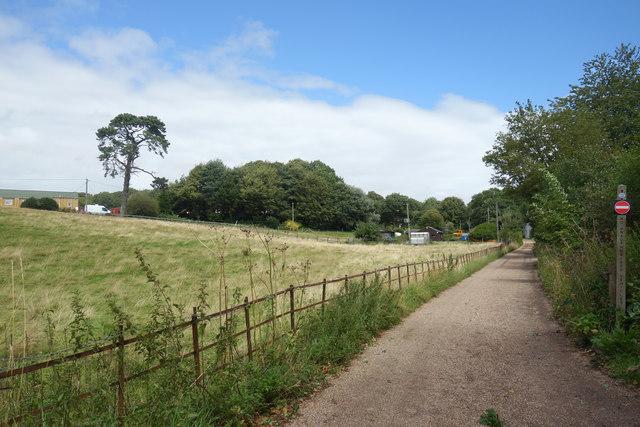 Towards Thomas Hardy's Cottage