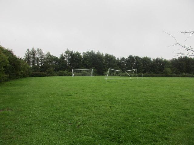 Football pitch, Beedon Hill