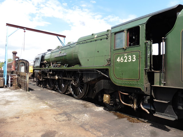 Duchess of Sutherland at Crewe  Heritage Centre