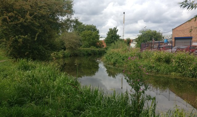 Grand Union Canal in Aylestone, Leicester