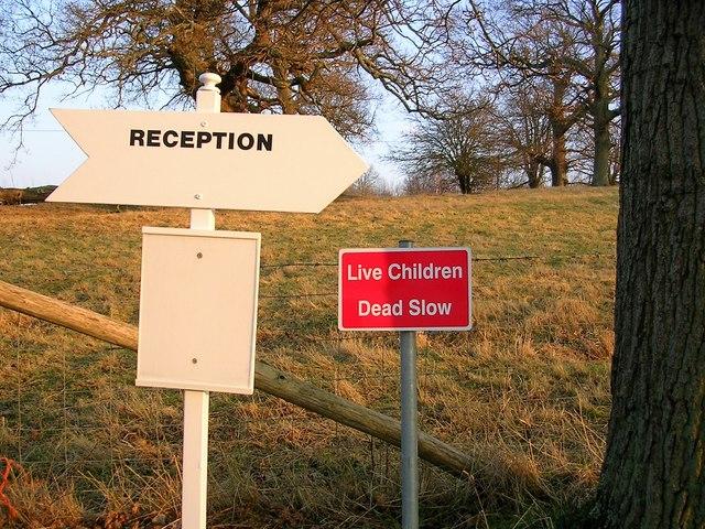 Signs in Ladybird Lane for Pestalozzi International Village