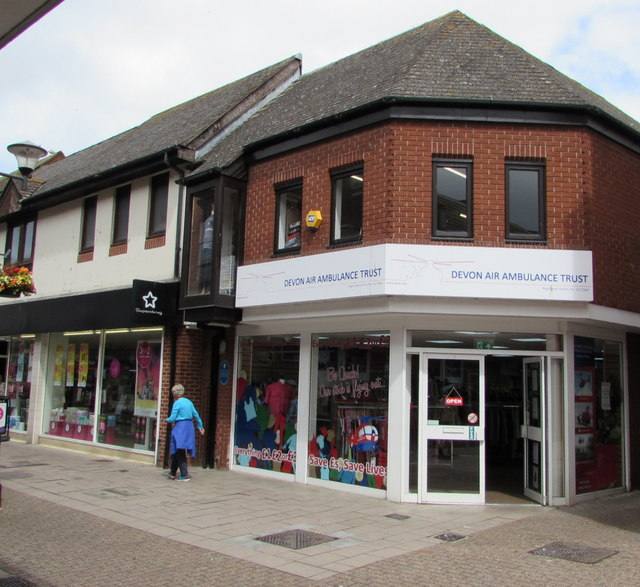 Devon Air Ambulance Trust charity shop, Exmouth