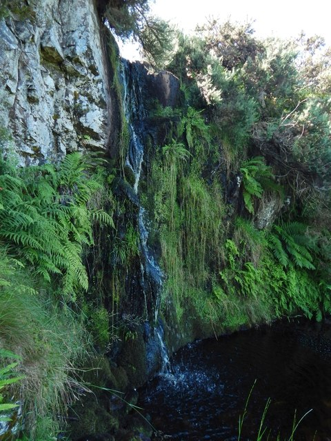Waterfall on the Craigieknowe Burn