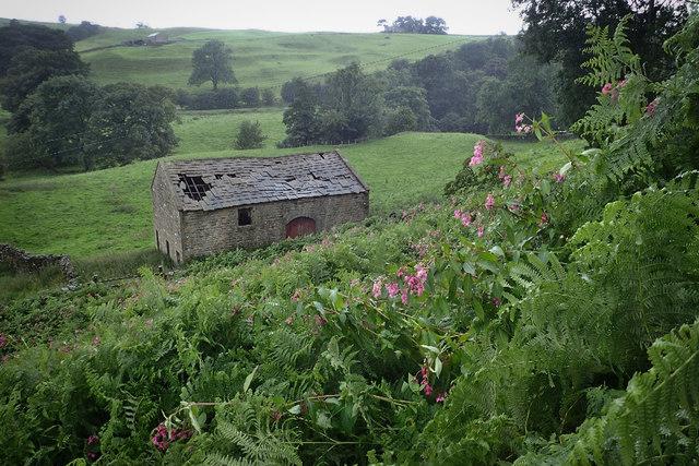 Barn near Limley Farm