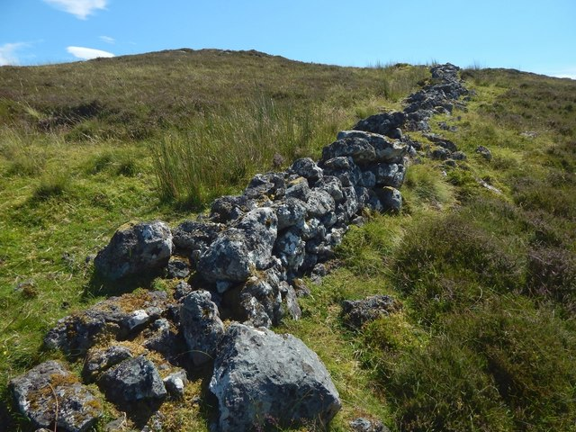 Dry-stone wall on Burnhead Moor