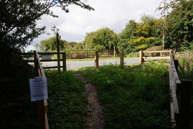 Rail trail at Street Lane, Bubwith