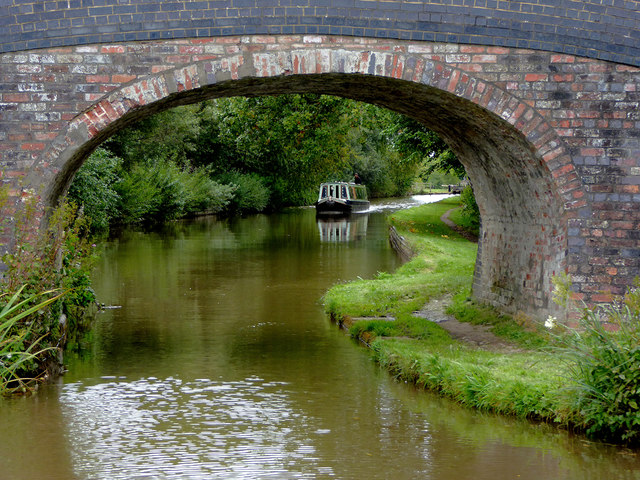 Llangollen Canal at Stoneley Green Bridge, Cheshire