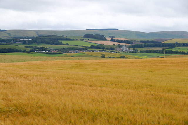 View towards North Middleton from Gallow Hill, Gorebridge