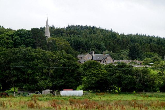 The church at Borthwick