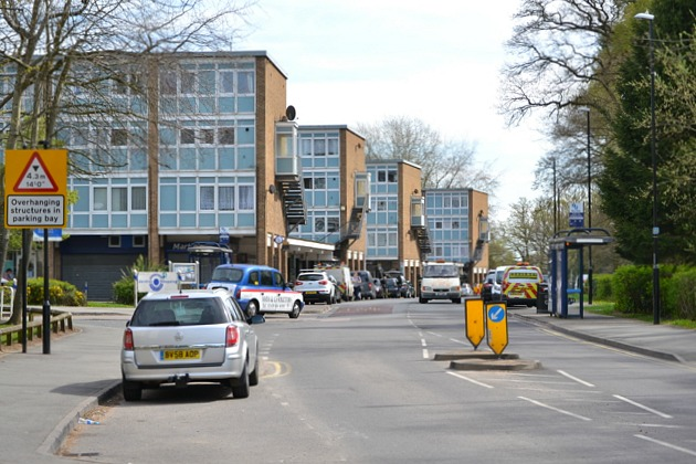 Jardine Shopping Centre, Jardine Crescent, Tile Hill North, western Coventry