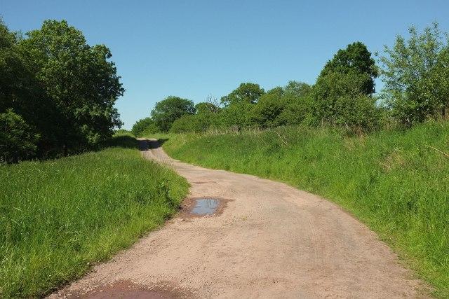 Track near Romsey Farm