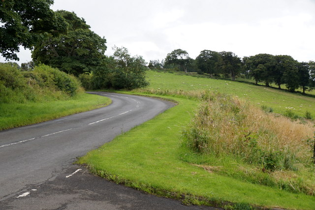 Road north out of Crichton