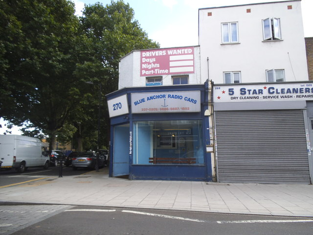 Shops on Southwark Park Road