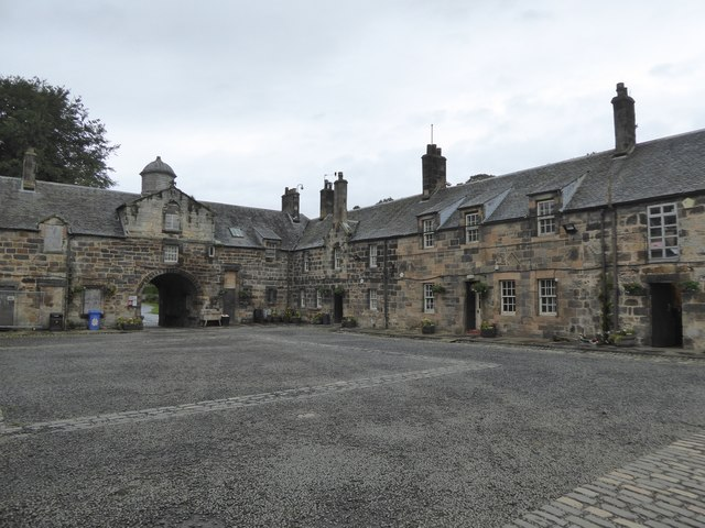 Stable block in Pollok Country Park