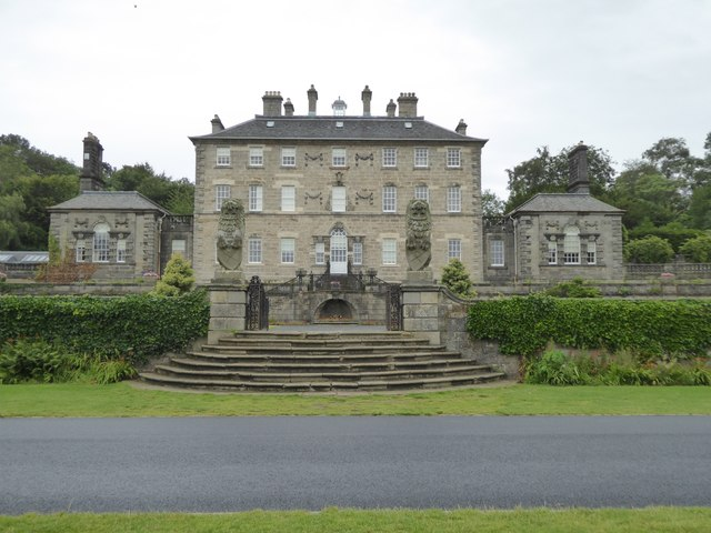 Pollok House, the south front