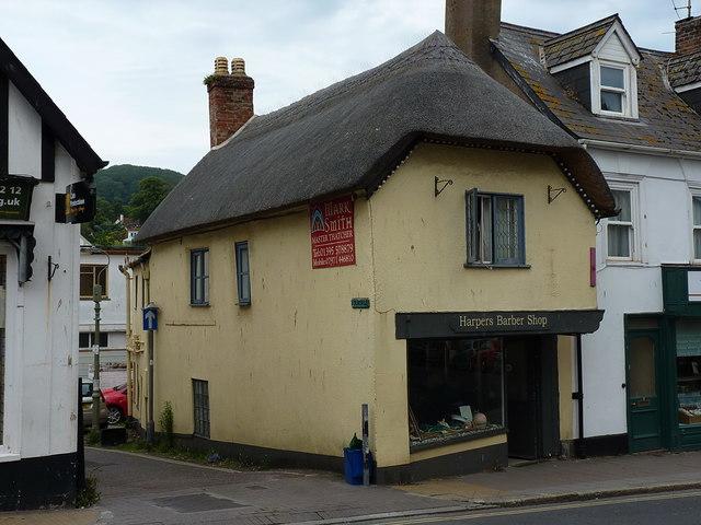 Harper's Barber Shop, Sidmouth
