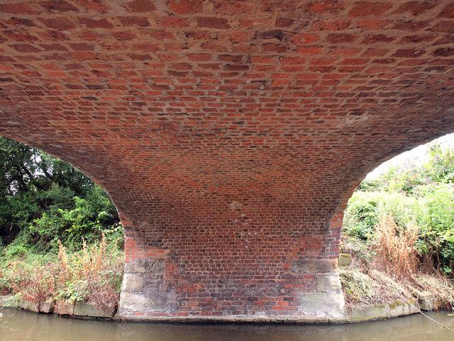 Under Bridge 145 on the Shropshire Union Canal