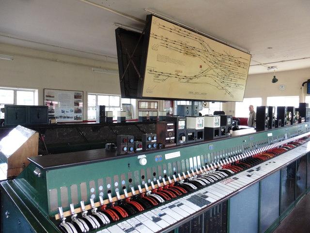 Interior, Crewe North Junction Signal box