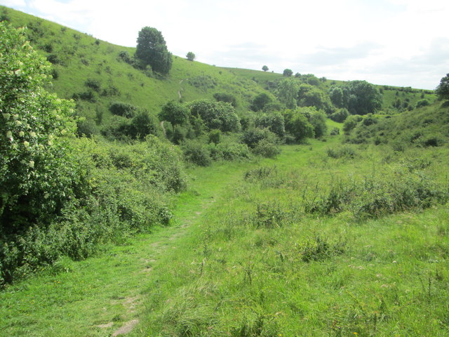 At the foot of Incombe Hole