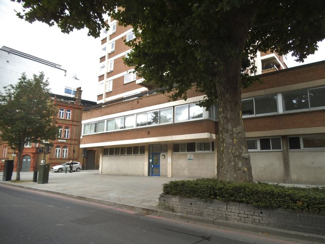 Flats on Blackfriars Road, Southwark