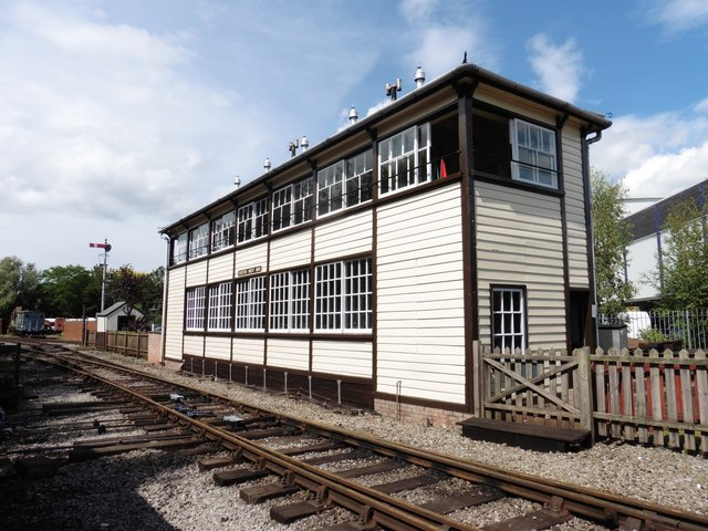 Exeter West Signal Box