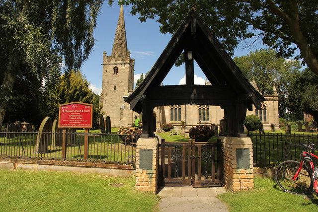 St.Edmund's church lychgate
