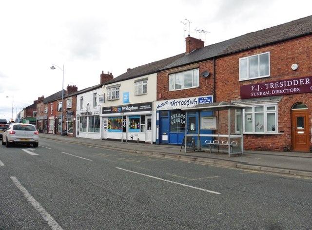 Shops on Nantwich Road
