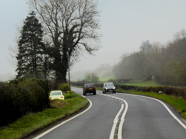 A483 north of Llanmerewig