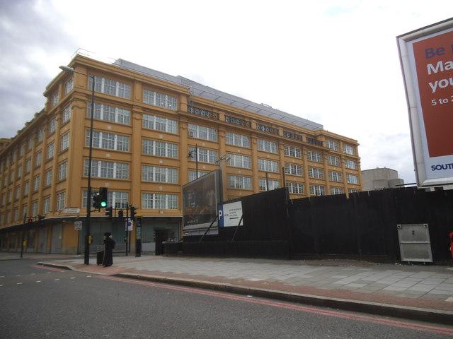 Kings College block on Stamford Street