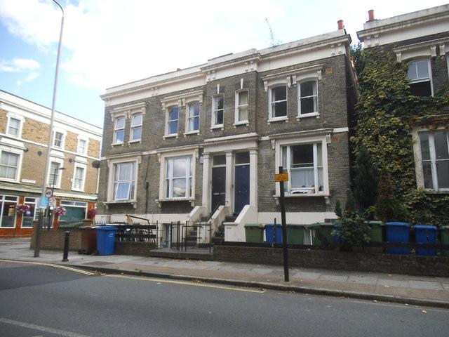 Houses on Southwark Park Road