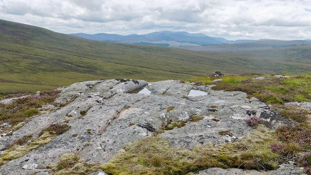 Summit of Meall Doir' a' Chuilinn
