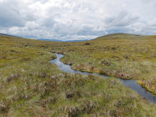Wet ground below Cnoc Thorcaill